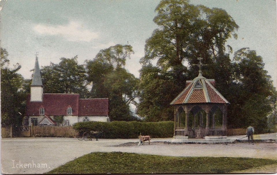 ickenham church and pump