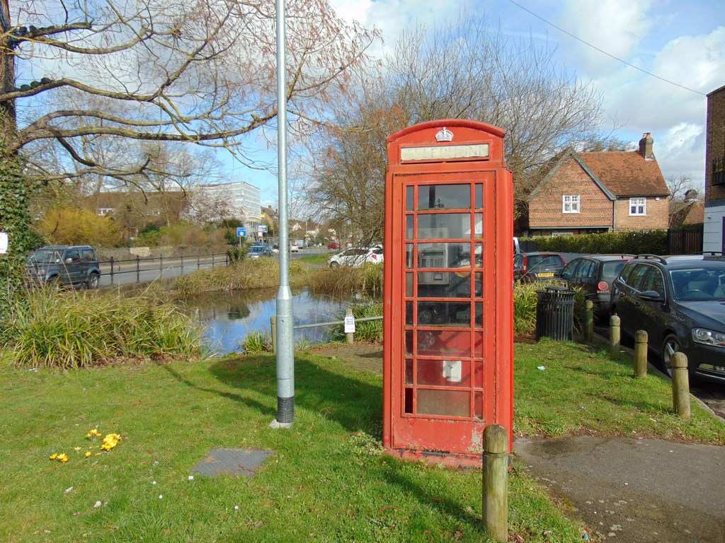 Ickenham Pond And Phone Box