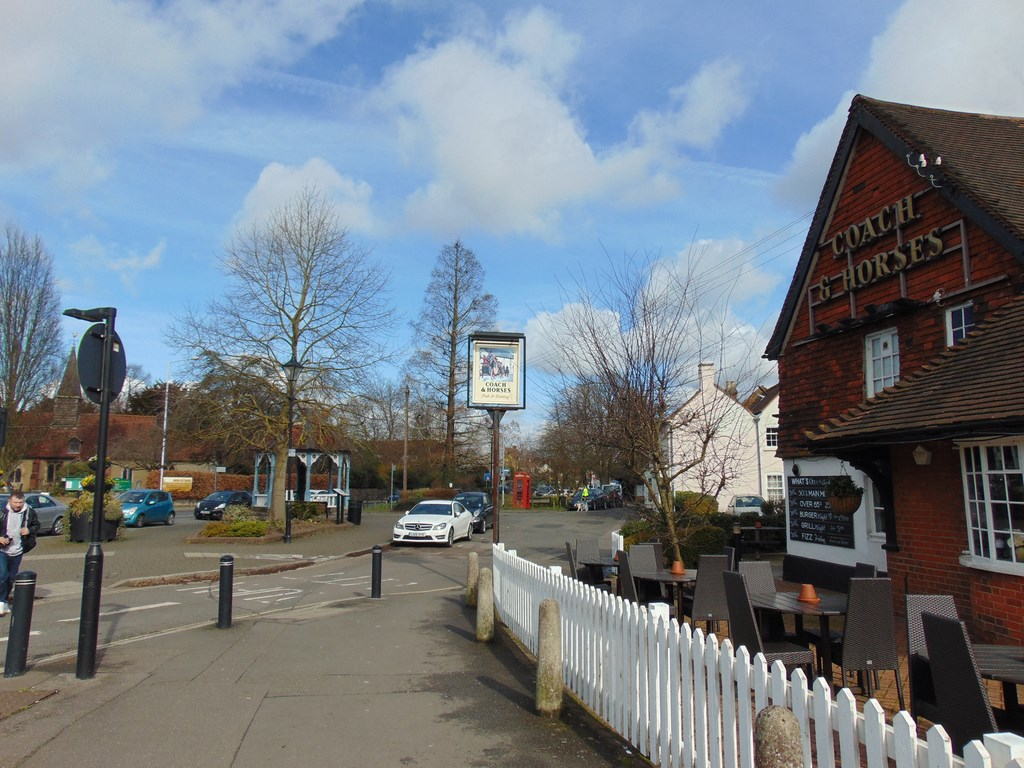 The Coach And Horses And The Pump In Ickenham