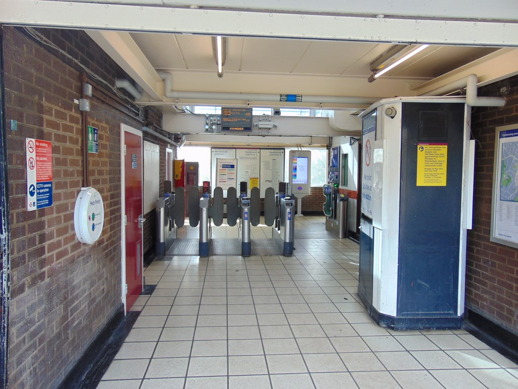 Ickenham Station Ticket Hall