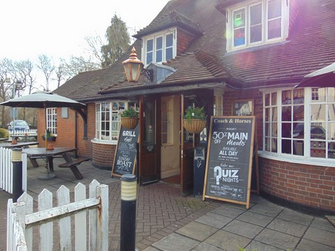 Ickenham's Coach And Horses Pub